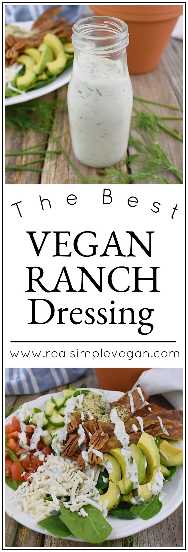 Vegan Ranch Dressing and Dip | Real. Simple. Vegan.