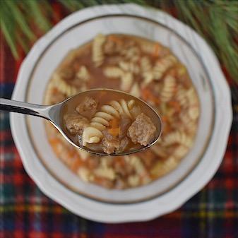 Seitan Chick'n Noodle Soup   Real. Simple. Vegan.