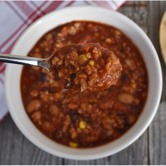 Seitan Chick'n Chili | Real. Simple. Vegan.