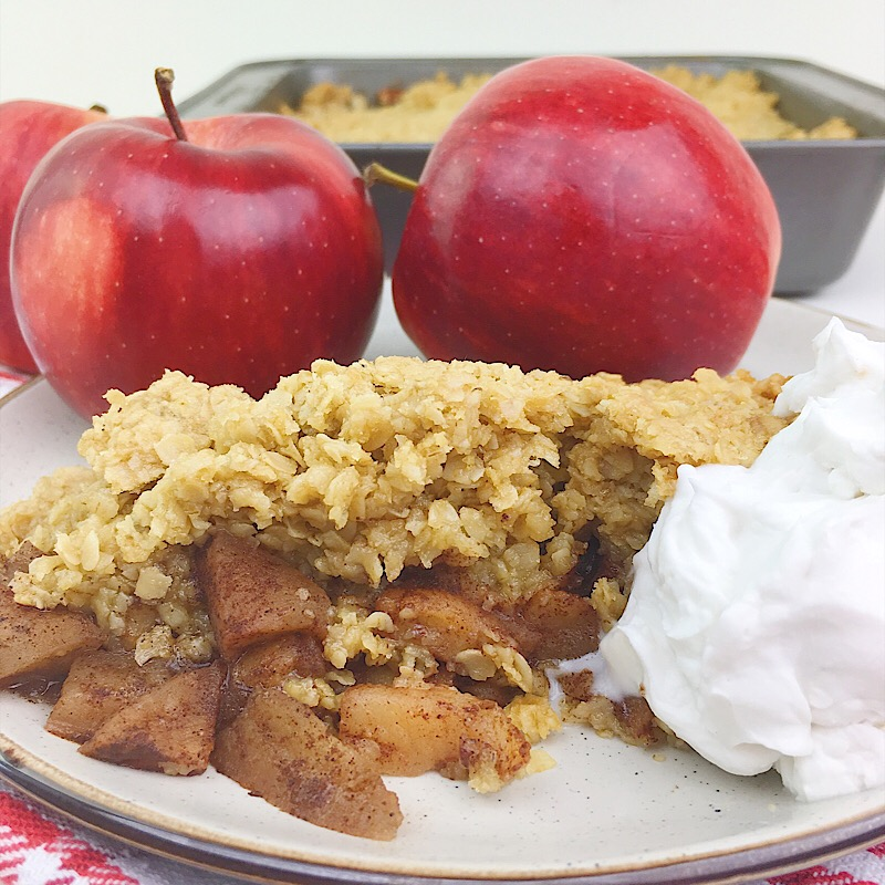 Vegan Cinnamon Apple Crisp | Real. Simple. Vegan.