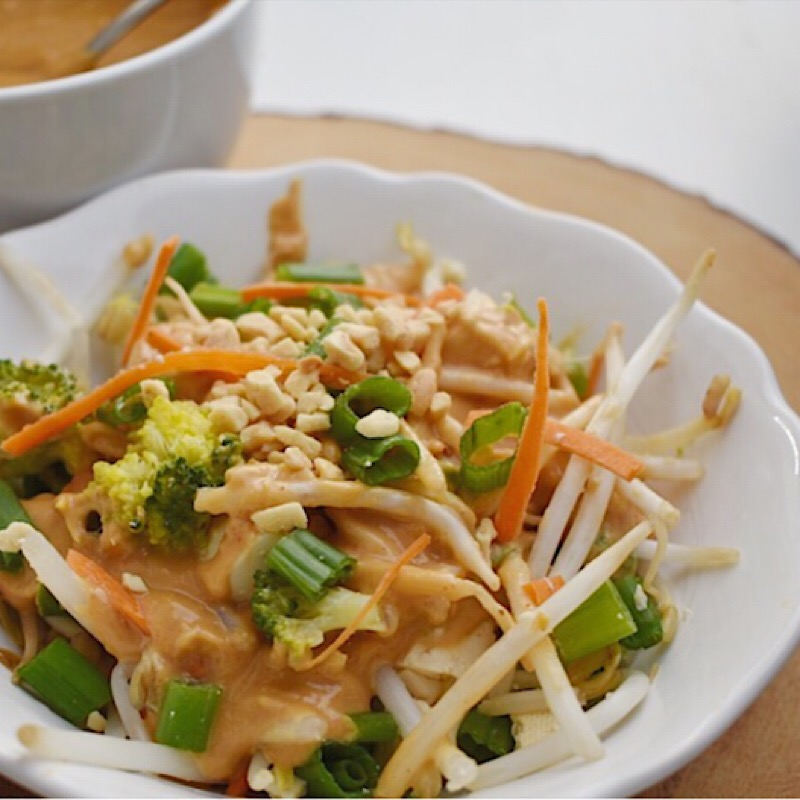 Ginger Lemon Peanut Sauce