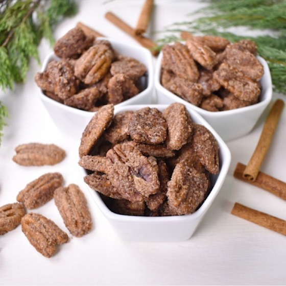 Vegan Candied Pecans | Real. Simple. Vegan.
