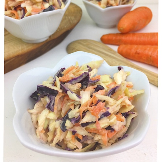 Creamy Crunchy Coleslaw | Real. Simple. Vegan.