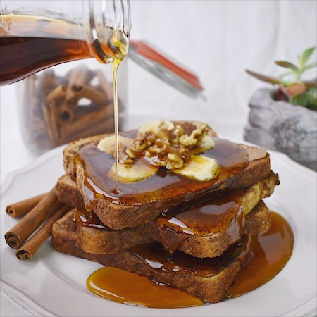 Vegan Cinnamon French Toast | Real. Simple. Vegan.