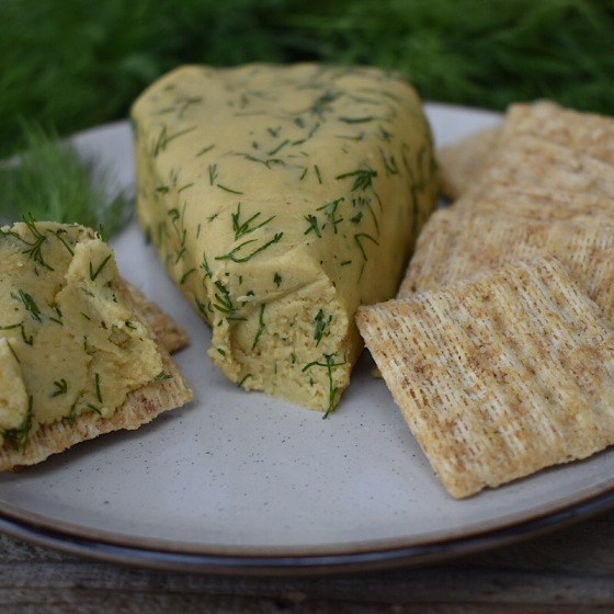 Dill & Cracked Pepper Cashew Cheese | Real. Simple. Vegan.